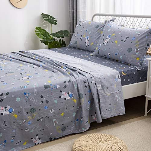 Brandream Bedding Themed Astronaut 4 Piece
