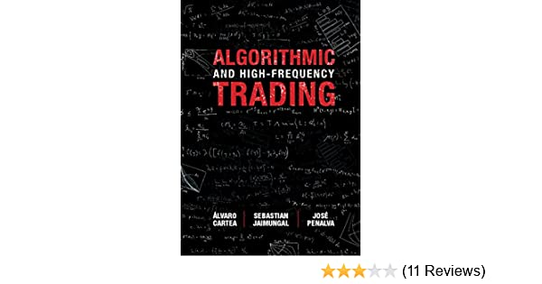 Amazon com: Algorithmic and High-Frequency Trading