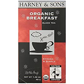 Harney and Sons Premium Tea Bags, 20 Count 12 A traditional blend of hand-picked black teas from India The Assam is mellowed a bit with a smooth south Indian Tea It can be enjoyed on its own or with milk and sugar