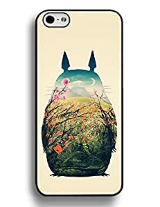 Iphone 6 Plus 5.5 Inch Case, Cool Totoro Theme Hard Plastic Case Cover for Iphone 6 Plus (5.5 Inch), [Scratch Resistant] for Girls 9786707M819329797