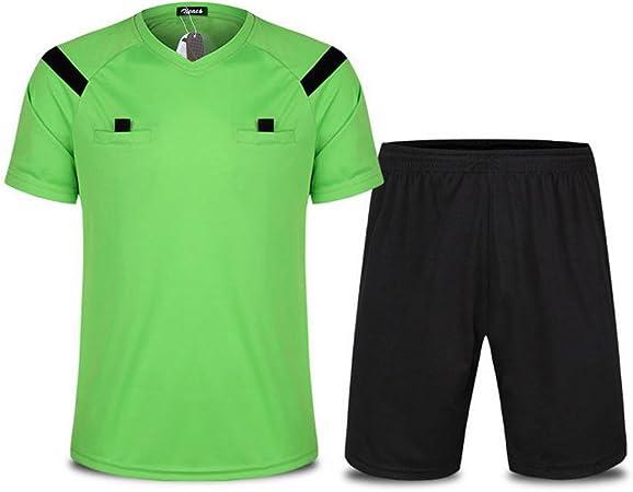Zicac Hombre Traje Árbitro de fútbol camisa pantalones cortos ...