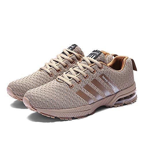 Course Trail Gym Sport Shoes Athlétique Basket Pour Plein Sneaker Jogging Femme  Fitness Marron Running De Homme Compétition Entraînement Chaussures Air ... 6309ad049a5