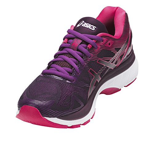 Asics  Gel-Nimbus 19, Zapatillas de running Para Mujer Negro (Black/cosmo Pink/winter Bloom)
