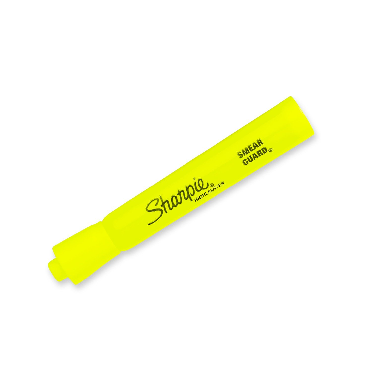 Sharpie 25025 Tank Highlighters, Chisel Tip, Fluorescent Yellow, 12-Count by Sharpie (Image #4)