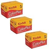 Kodak colorplus film 200 (pack of 3)