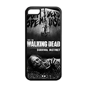 Iphone 5C Case Cover The Walking Dead Poster Fitted Slim Cases