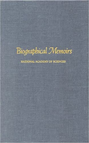 Biographical Memoirs: Volume 72 (Biographical Memoirs: A Series)