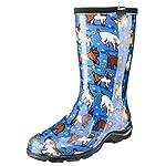 Sloggers 5018GOBL11 Waterproof Comfort Boot, 11, Blue