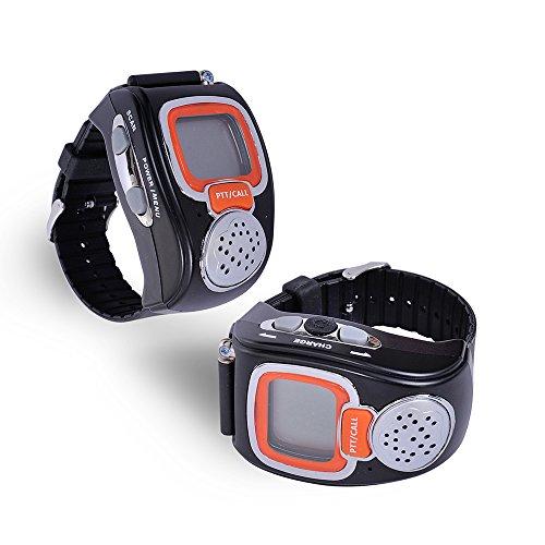 Fantastic Deal! BOENSEN Watch Walkie Talkie Portable Digital Wrist Two Way Radio For Outdoor Sport H...