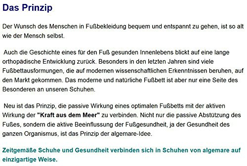 Algemare Sandalette Nubuk Algen-Kork Wechselfußbett Herstellung in Deutschland 7691_4178 Sandale Herren, Größe:41