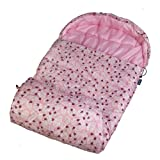 Wildkin Lady Bug Pink Stay Warm Sleeping Bag