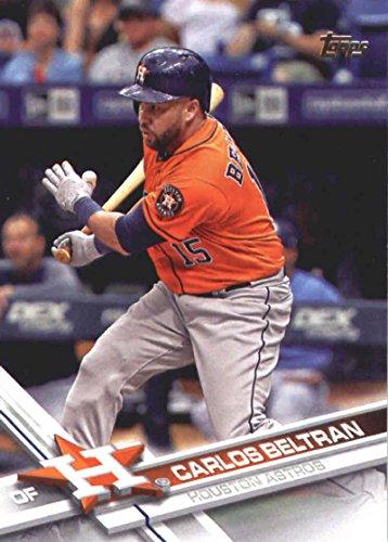 Ast Series (2017 Update Series #US120 Carlos Beltran Houston Ast Baseball Card)