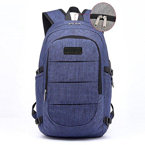 Mochilas Escolares Juveniles, Mochila Casual Chico con USB Puerto de Carga, mochilas Para Portátil