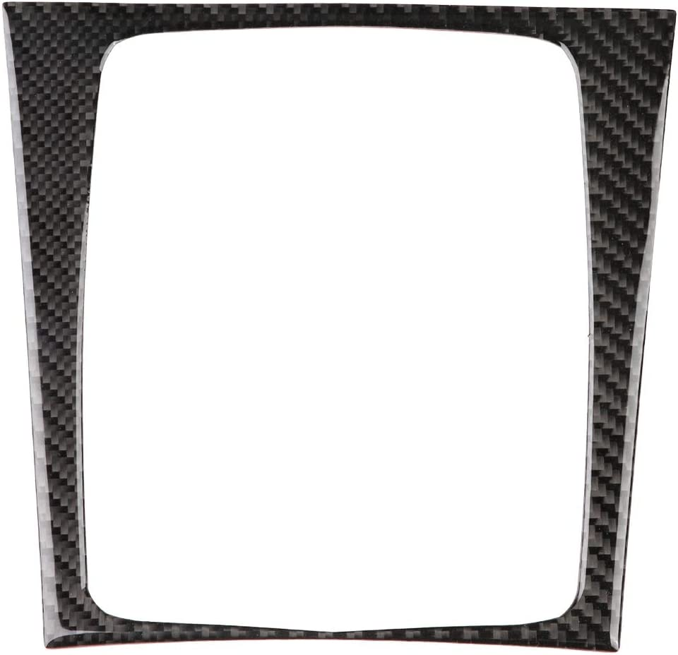 Ebtools Car Interior Gear Shift Panel Rahmenblende Für C Klasse W204 2005 201 2 Carbon Style Auto