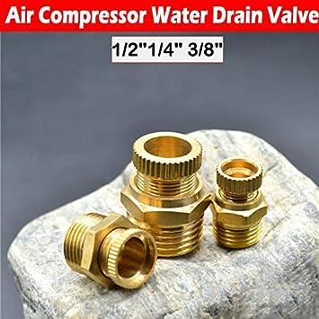 1//2 1 v/álvula de desag/üe 1//41//2 3//8 para compresores de rosca e ideal para el vaciado.