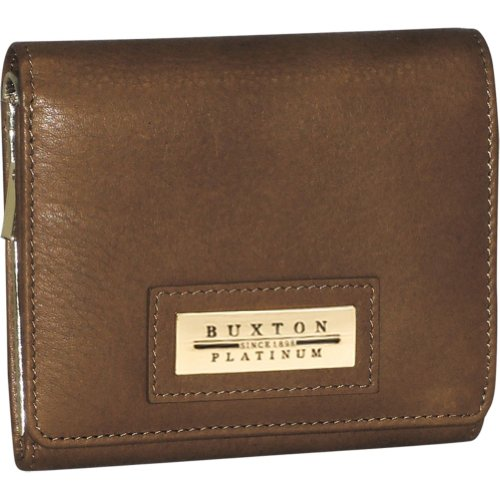 Buxton Ultra Mini Purse (Brown)