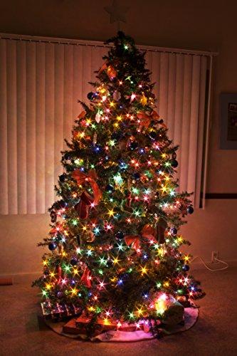 holiday essence 100 multi color christmas lights with. Black Bedroom Furniture Sets. Home Design Ideas