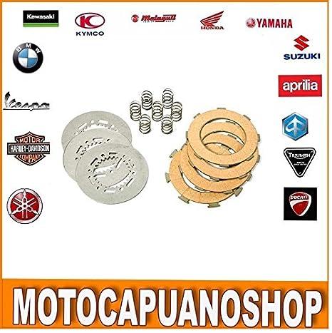 Discos Embrague completos con muelles NEWFREN f1191s modifica Piaggio Vespa PX 200: Amazon.es: Coche y moto