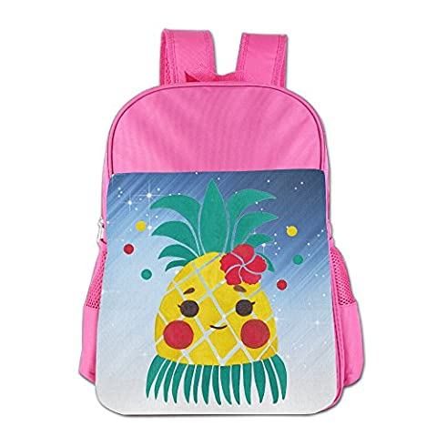 Yanhong Miss Hawaiian Pineapple Girl Outdoor Daypack For 4-15 Pink - Littlest Angel Doll