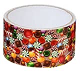 Holiday and All Occasion Design Printed Duct Tape; Candy, Stripes, Shoes and Stars