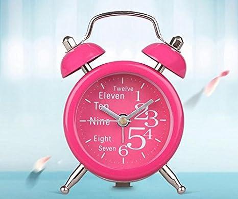 ZHUNSHI 2 Pulgada Metal Mini Modo Alarma Alarma de Noche ...