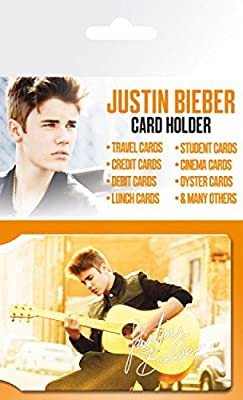 Justin Bieber Credit Card Holder Wallet For Fans Collectible - Belieber (4 x 3 inches)