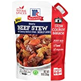 McCormick Slow Cookers Beef Stew With Herbs & Onions Seasoning Mix, 9 oz (Case of 6)