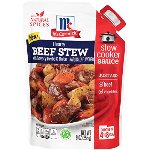 McCormick Slow Cookers Beef Stew With Herbs & Onions Seas...