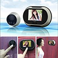 GigaMax(TM)3.5 inch TFT LCD Pinhole Peephole Digital Door Eye Camera Viewer Doorbell Dont Disturb Function Video Peephole Door Bell