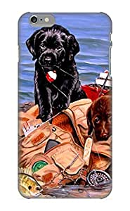 TYH - Ellent Iphone 6 4.7 Case Tpu Cover Back Skin Protector Animal Dog Puppy Cute For Lovers phone case