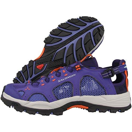 Salomon Techamphibian 3 W, Zapatillas de Trail Running para Mujer Azul (Spectrum Blue/Baja Blue/Flame)