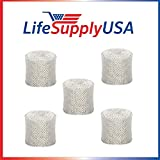 5 Replacement Humidifier Wick Filters fit Kaz WF1 / Emerson...