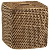Wicker Tissue Box Hidden Spy Camera Battery Powered w/ DVR & 30-Day Standby Battery - HD Video Quality Hidden Recording - No Wires - Up to 32 GB Built-In Storage - Self-Powered Spy Camera