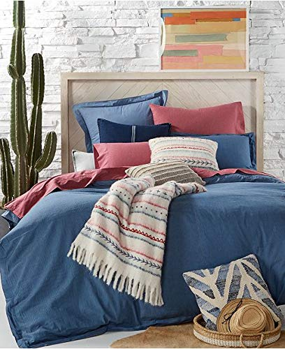 (Tommy Hilfiger Blues Sunkissed Denim Twin Comforter & Sham Set)