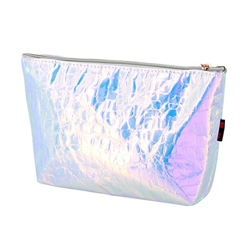 Phone Holographic Crocodile Bling Cosmetic Mobile Silver Purse Bag Holographic Leather Coin mo Golden Print Multi Holographic Pu Handbag Chic Bag Glitter Fashion Pq6ROOY1wt
