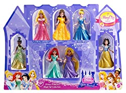 Disney Princess Little Kingdom Magiclip 7-Doll Giftset...