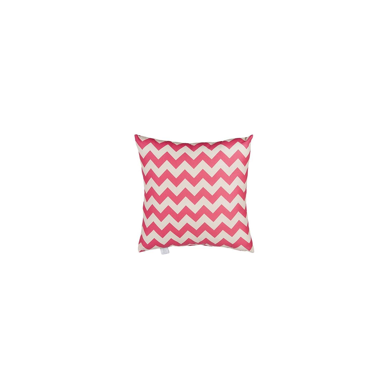 Glenna Jean Pippin Pillow, Pink Chevron
