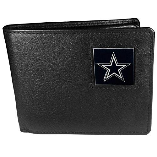 NFL Dallas Cowboys Leather Bi-fold Wallet]()