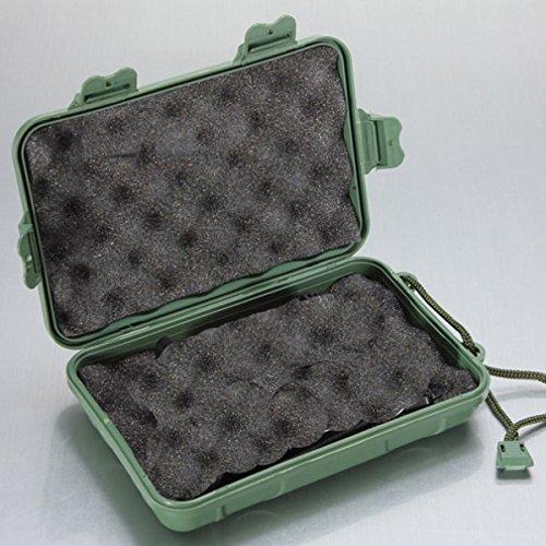 Bluelover B LED-Taschenlampe Green Box für den einfachen Transport Keeping