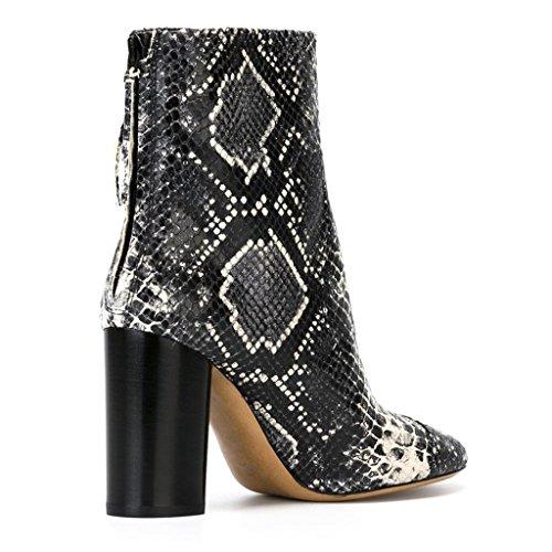 invierno Zip Artificial Señora de botas 36 Zapatos de otoño tacones SILVER trabajo Silver Mostrar de 39 PU 070816FD Botas Botas Botas altos Oqw6qIg