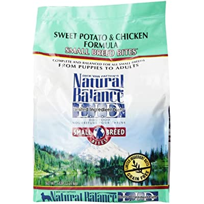 Natural Balance Limited Ingredient Diets Sweet Potato and Chicken Small Breed Bites Dry Dog Food