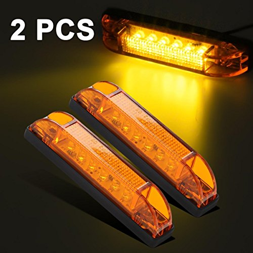 Partsam Marker Indicators Light Yellow product image