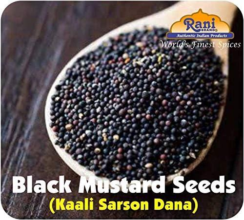 Rani Brand Authentic Indian Products Semillas de mostaza Peso neto. 3.5oz (100gms)