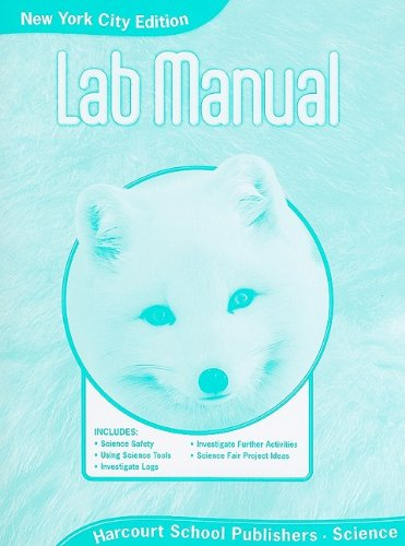 Harcourt Science: NYC Lab Manual Student Edition Science 08 Grade 1 pdf