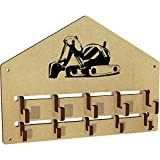 Azeeda 'Digger' Wall Mounted Coat Hooks / Rack (WH00000184)