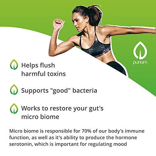 Purium Biome Medic - 60 Vegan Capsules - Gut Health Support Supplement, Removes GMO Toxins, Supports Good Bacteria, Repairs Microbiome - Vegetarian, Gluten Free - 60 Servings by Purium (Image #2)