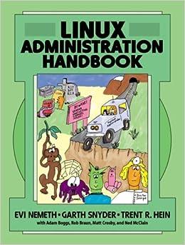 Book Linux Administration Handbook