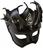 Medieval Fantasy Warrior Female Bat Mask On Glasses