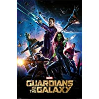 Marvel Comics PP33420 Guardians of The Galaxy (One Sheet) Maxi Poster, Bois Dense, Multicolore, 61 x 91,5 cm