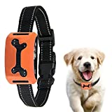 No Bark Electronic Collar Anti Dog Bark Collar With 7 Adjustable Shock/vibration/Beep Levels Rainproof Rechargeable Fluorescence Belt Orange Review